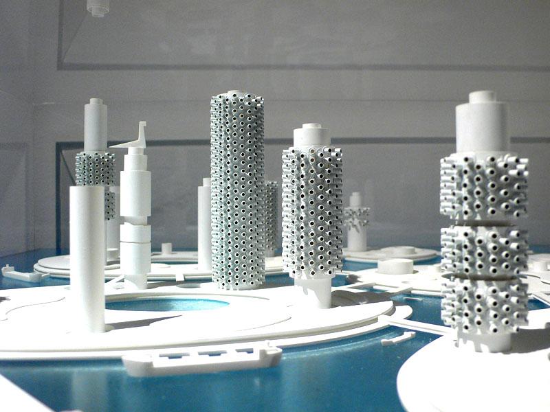 Marine City - projekt z 1968 roku, autorstwa metabolisty Kiyonori Kikutake. mr prudence (cc) flickr.com