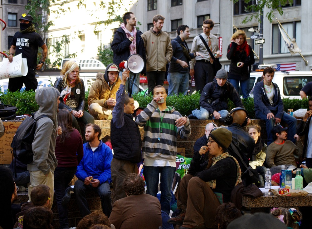 Day_2_Occupy_Wall_Street_Speaker_2011_Shankbone