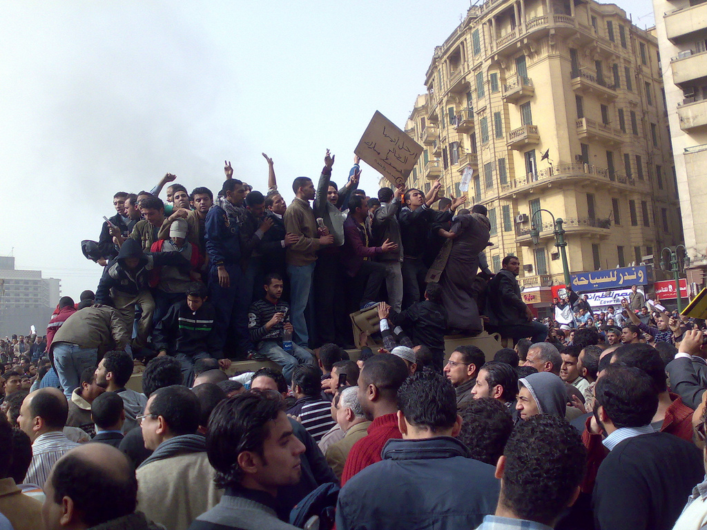 Demonstrators_on_Army_Truck_in_Tahrir_Square,_Cairo