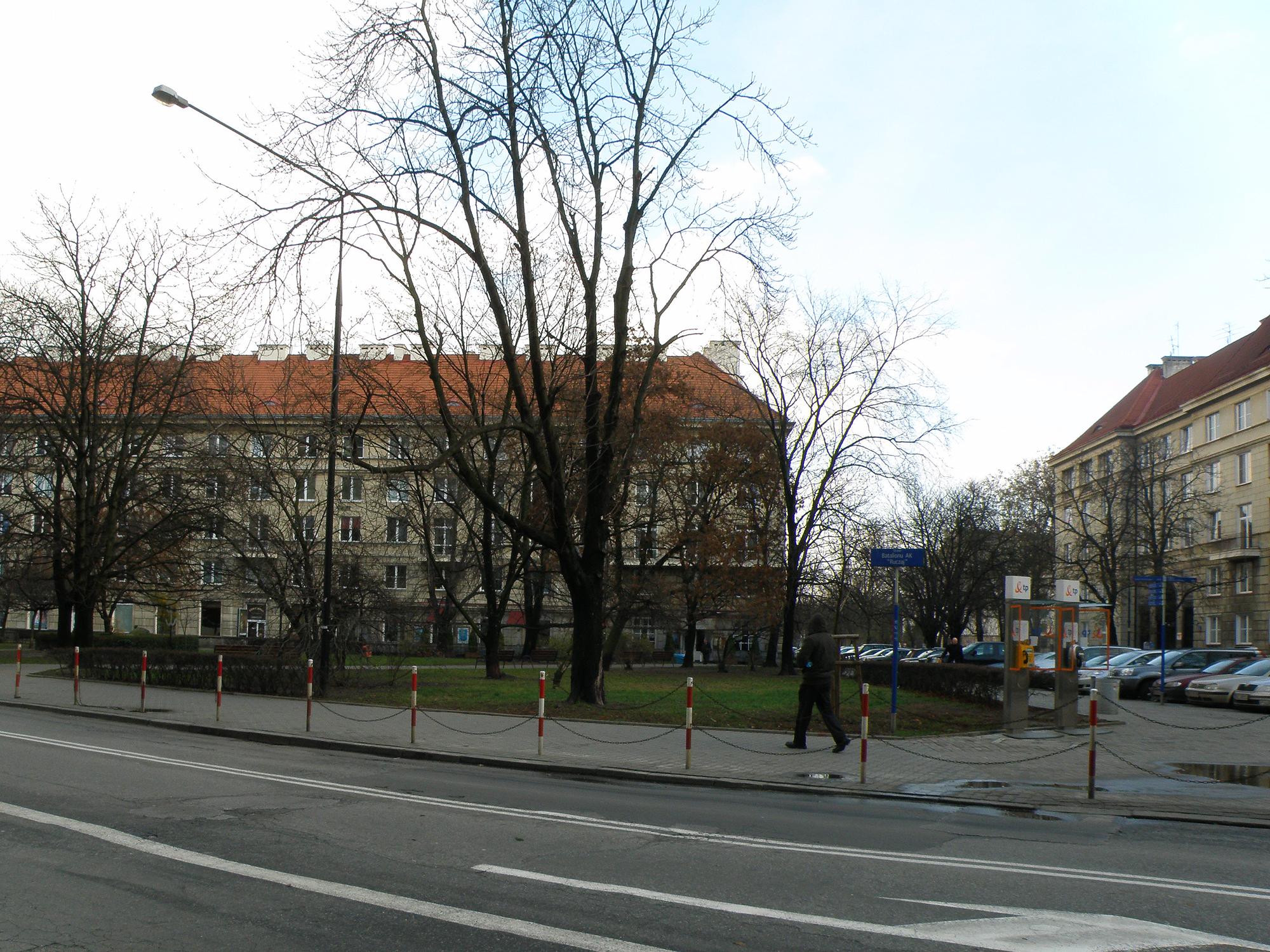 Skwer AK Ruczaj (cc) wikimedia.org