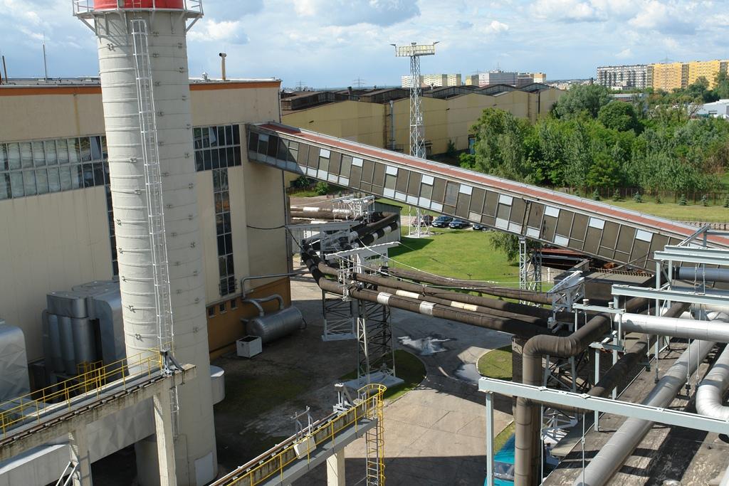 Elektrociepłownia działająca na terenie byłych Zakładów Przemysłu Ciągnikowego URSUS, ogrzewająca część dzielnicy Ursus, fot. z archiwum Stowarzyszenia na rzecz Rozwoju Ursusa