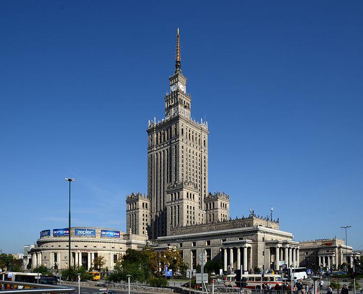 Pałac Kultury i Nauki, fot. Marcin Białek, Wikimedia Commons 3.0