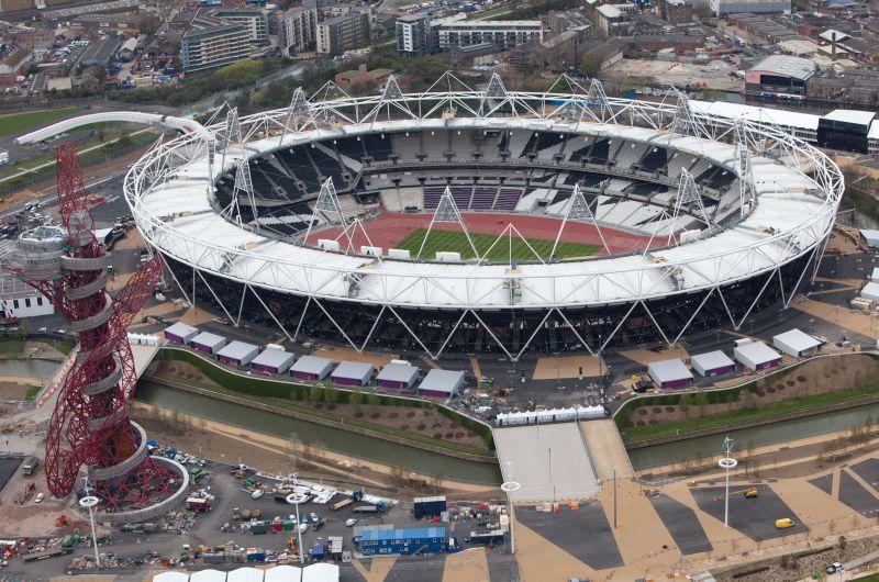 Stadion Olimpijski w Londynie, źródło: www.london2012.com