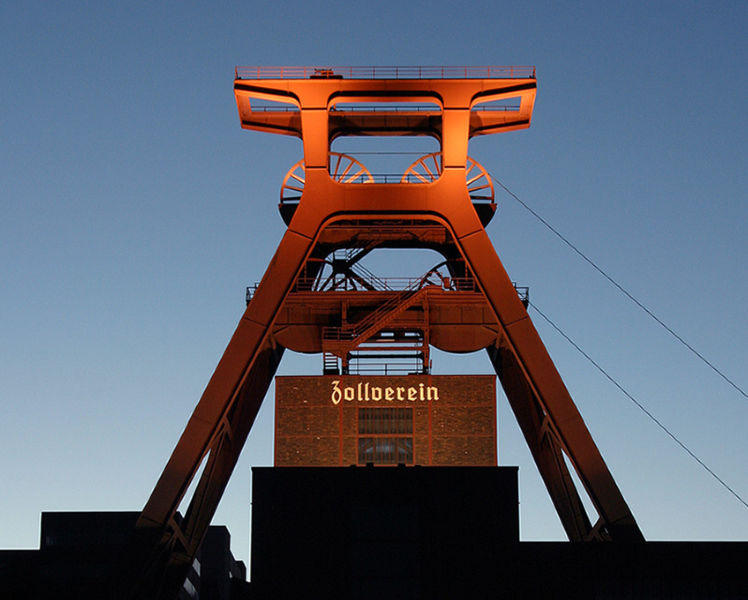 Kopalnia Zollverein w Essen, fot. Thomas Robbin (Wikimedia Commons 3.0)