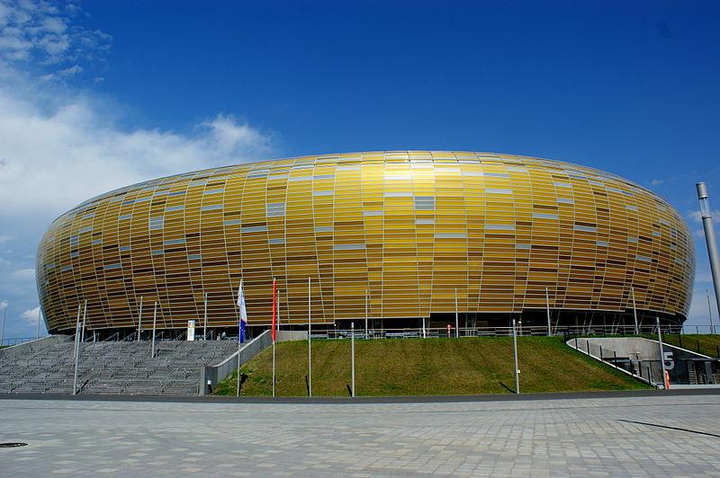 PGE Arena w Gdańsku, proj. RKW Rhode Kellermann Wawrowsky, fot. Dariusz Boczek, Wikimedia Commons / CC-BY-SA-3.0