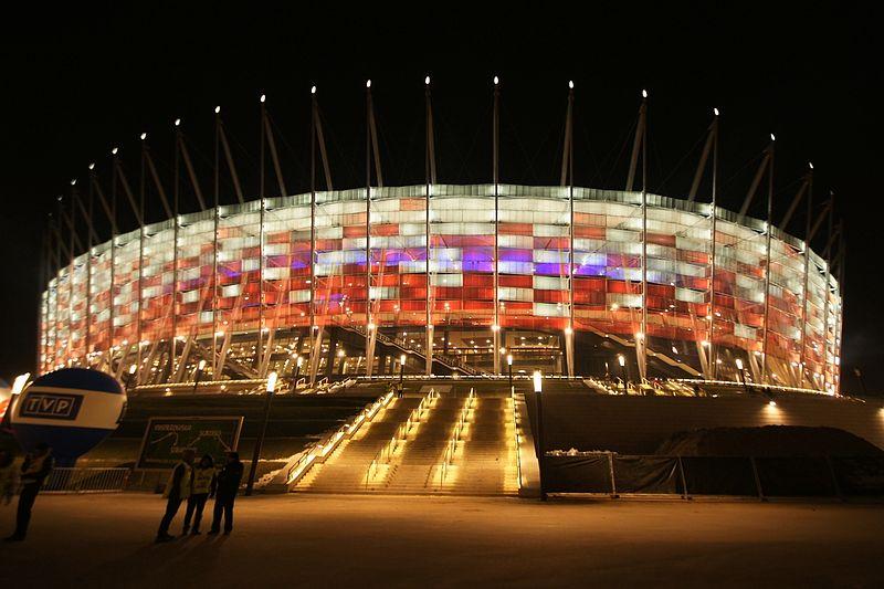 Stadion w czasie imprezy inauguracyjnej - OTO JESTEM!, fot. Mateusz Włodarczyk (Creative Commons 3.0)