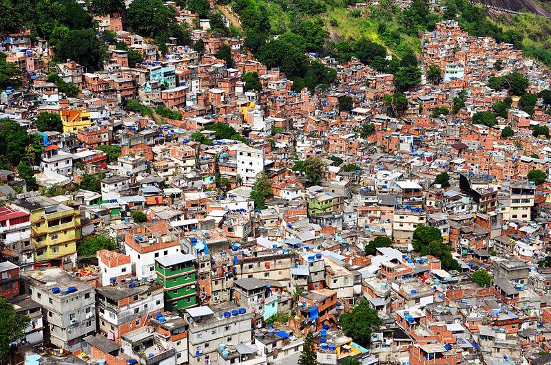 Fawela w Rio de Janeiro, fot.chensiyuan, Wikimedia Commons / CC-BY-SA-3.0