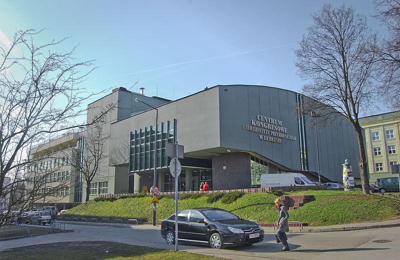 Centrum Kongresowe Uniwersytetu Przyrodniczego w Lublinie, fot. Szater, Wikimedia Commons / CC-BY-SA-3.0