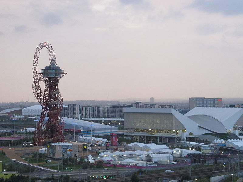ArcelorMittal Orbit, Londyn, proj. Anish Kapoor, fot. Matt Deegan, Wikimedia Commons / CC-BY-SA-2.0