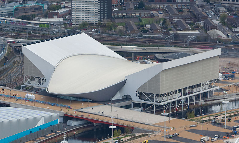 London Aquatics Centre, proj. Zaha Hadid, fot. EG Focus, Wikimedia Commons / CC-BY-SA-2.0