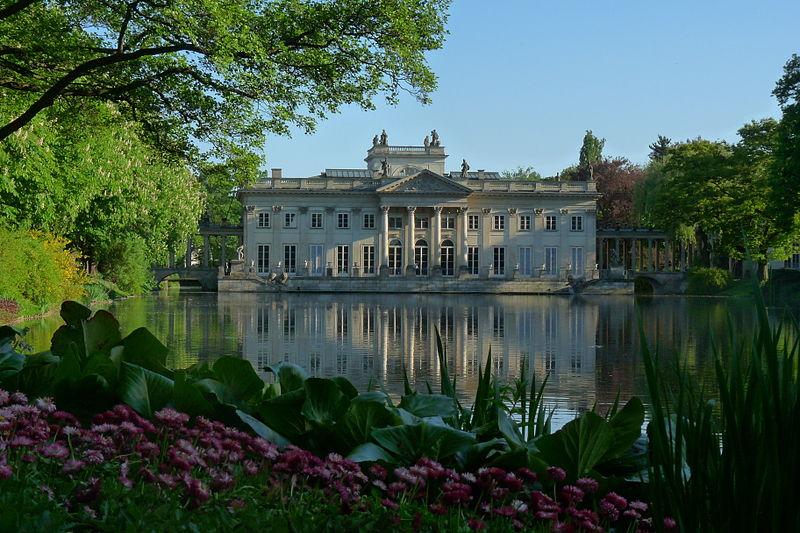 Pałac na Wodzie, Łazienki Królewskie, Warszawa, fot. Mariokol, Wikimedia Commons / CC-BY-SA-2.0