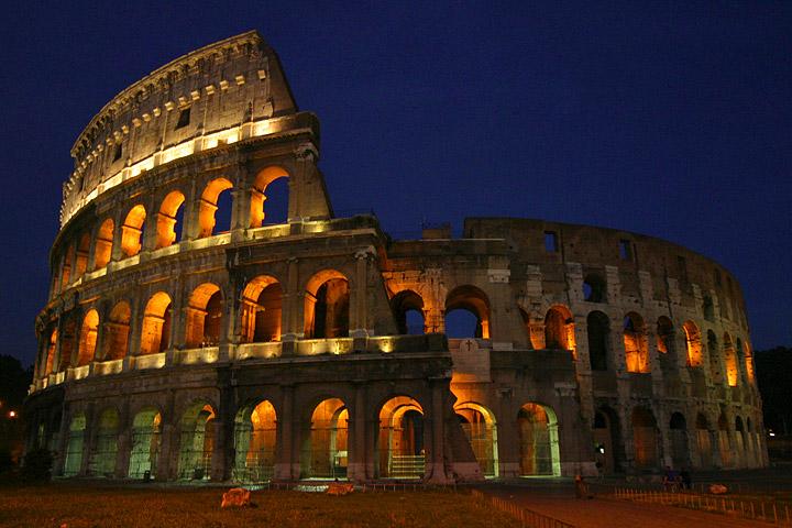 Koloseum, Rzym, fot. Aaron Logan, Wikimedia Commons / CC-BY-SA-1.0