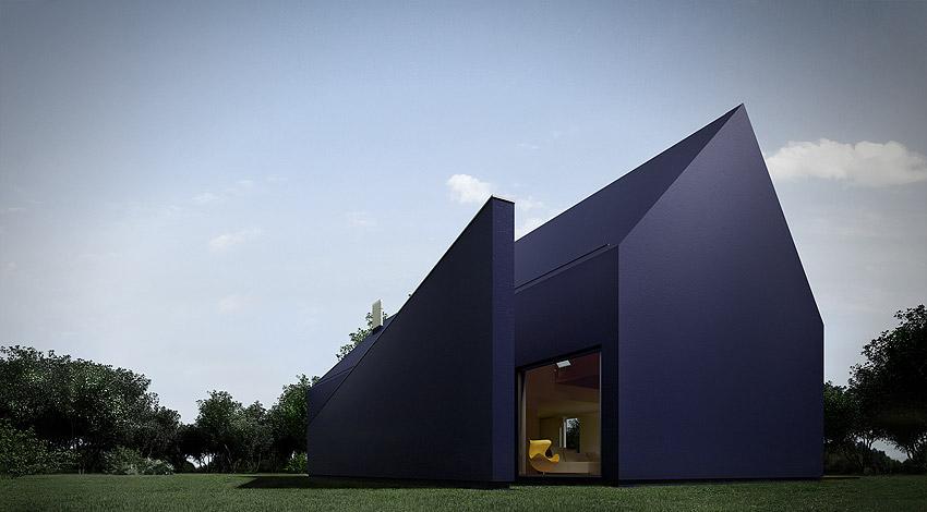 Dom l01, Łódź, proj. Moomoo Architects, źródło: http://moomoo.pl