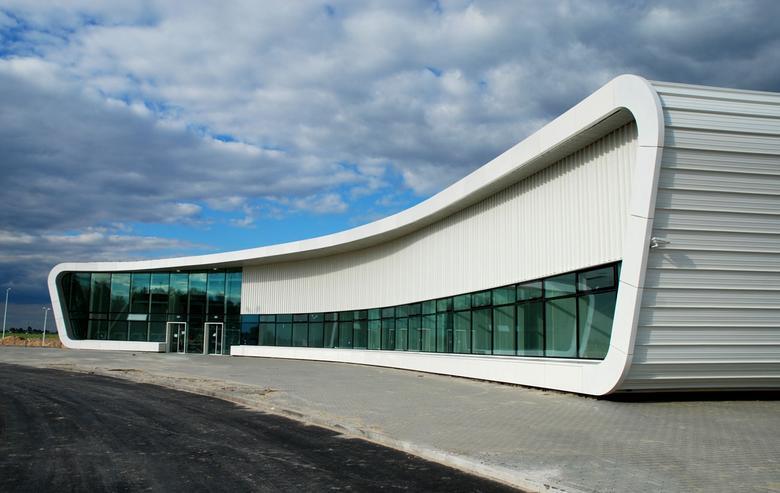 Terminal pasażerski – Port Lotniczy Lublin, proj. Are Grzegorz Stiasny, Jakub Wacławek, źródło: http://architektura.muratorplus.pl