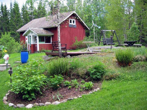 Mummonmökki, weekendowy domek w Finlandii, fot. Valtov, źródło: Wikimedia Commons