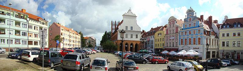 Rynek Sienny, Szczecin, fot. Mateusz War. / Wikimedia Commons / CC-BY-SA-3.0,2.5,2.0,1.0