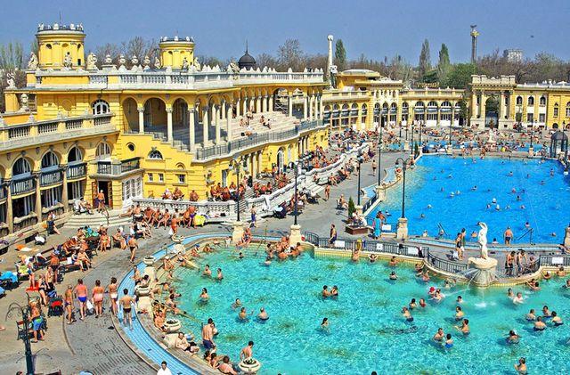Széchenyi Fürdő, Budapeszt, źródło: www.szechenyifurdo.hu