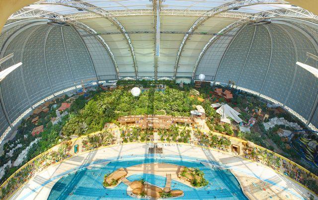 Ośrodek Tropical Islands, Krausnick, Niemcy, źródło: www.tropical-islands.de