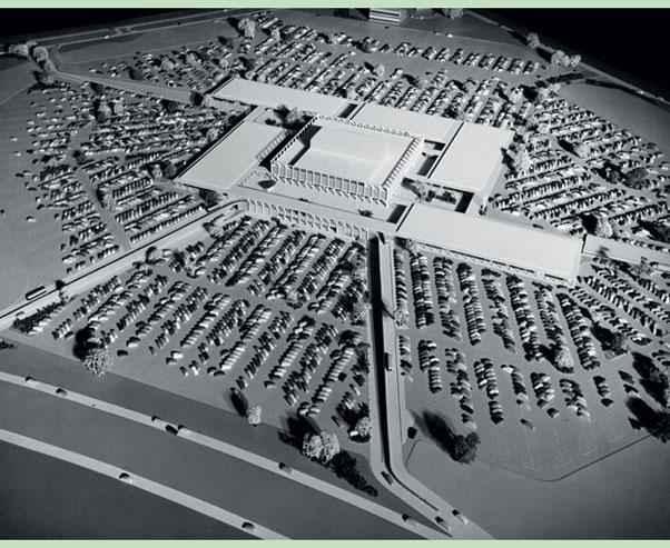 Northland Center, proj. Victor Gruen, źródło: www.dergrueneffekt.at