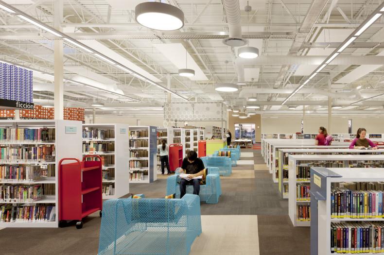 McAllen Main Library, proj. Meyer, Scherer & Rockcastle, źródło: http://msrdesign.com