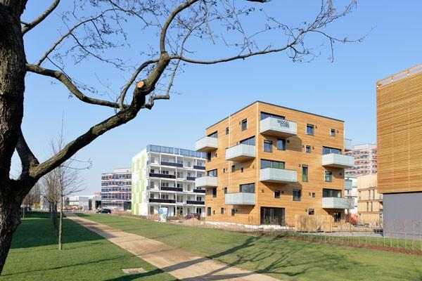 Aussenansicht März 2013 ( Foto © : IBA Hamburg / Martin Kunze ), www.german-architects.com