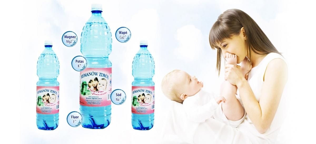 Woda Celestynka z Rymanowa Zdroju, www.uzdrowisko-rymanow.com.pl