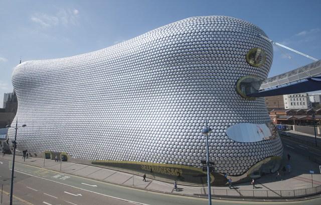 Selfridges Building, Birmingham; proj. Amanda Levete Architects, fot. Bs0u10e01, (CC BY-SA 3.0)