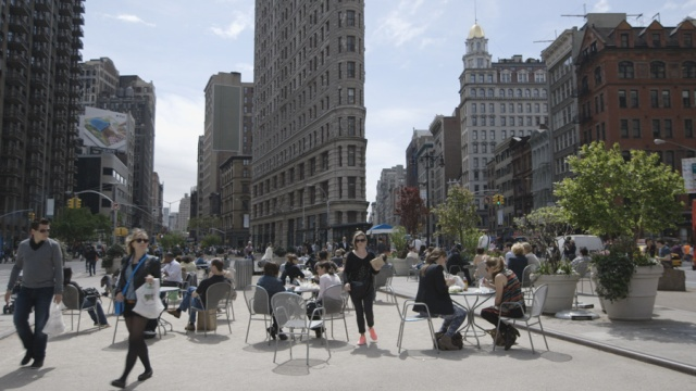 """Nowy Jork, kadr z filmu """"Human Scale"""", źrodło: http://thehumanscale.dk"""