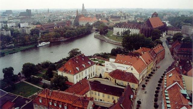 Panorama Wrocławia, fot. Chepry (Andrzej Barabasz), (CC BY-SA 2.0)