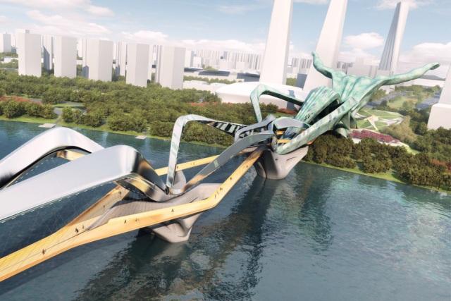 The Titan, proj. Ballistic Architecture Machine (BAM), źródło: http://bam-usa.com