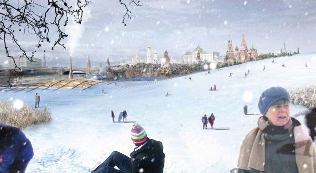 Park Zaryadye w Moskwie, proj. Diller Scofidio + Renfro, źrodło: http://parkzaryadye.com/en/