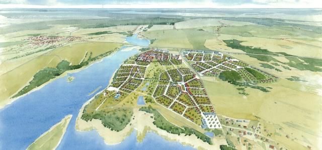 Projekt miasteczka Siewierz-Jeziorna, http://mau.com.pl