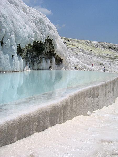 Gorące źródła w Pamukkale, fot. Denverbabushka (CC BY-SA 3.0)