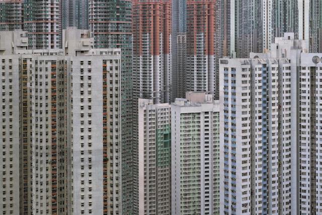 "Hong Kong, z cyklu ""Architecture of Density"", fot. Michael Wolf, źródło: http://photomichaelwolf.com"