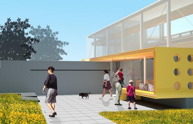 Staten Island Animal Care Center, proj. Garrison Architects, źródło: www.garrisonarchitects.com