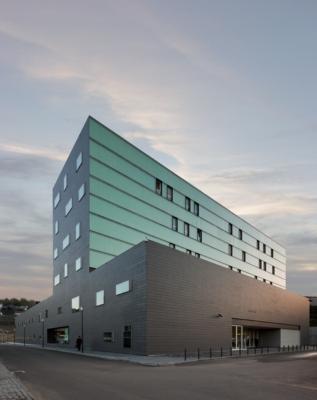 Guimarães Private Hospital, Guimarães, Portugalia, proj. Pitágoras Arquitectos, źródło: www.pitagoras.pt