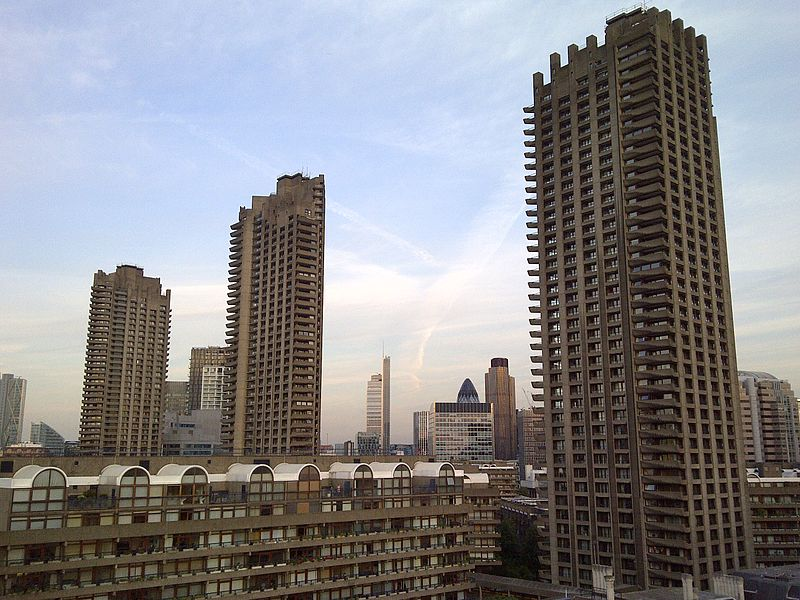 Barbican, Londyn, fot. Riodamascus, (CC BY-SA 3.0)