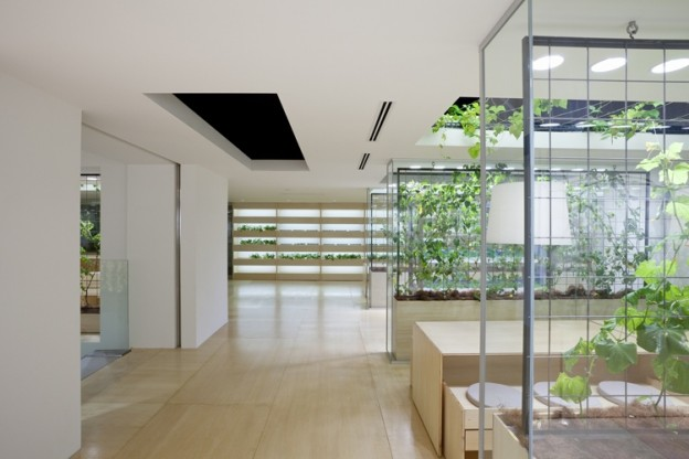 Miejska farma – siedziba firmy Pasona, Tokio, proj. Kono Designs, źródło: http://konodesigns.com