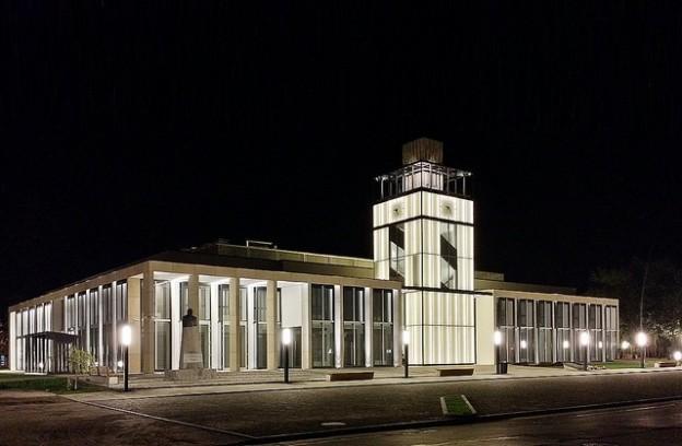 """Zduńskowolskie Centrum Integracji """"Ratusz"""", proj. 90 Architekci, źródło: www.a90.pl"""
