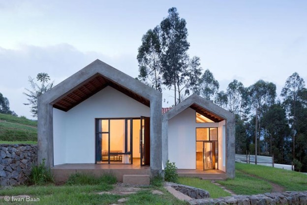 Butaro Doctors' Housing, Rwanda, proj. MASS Design Group, źródło: http://massdesigngroup.org