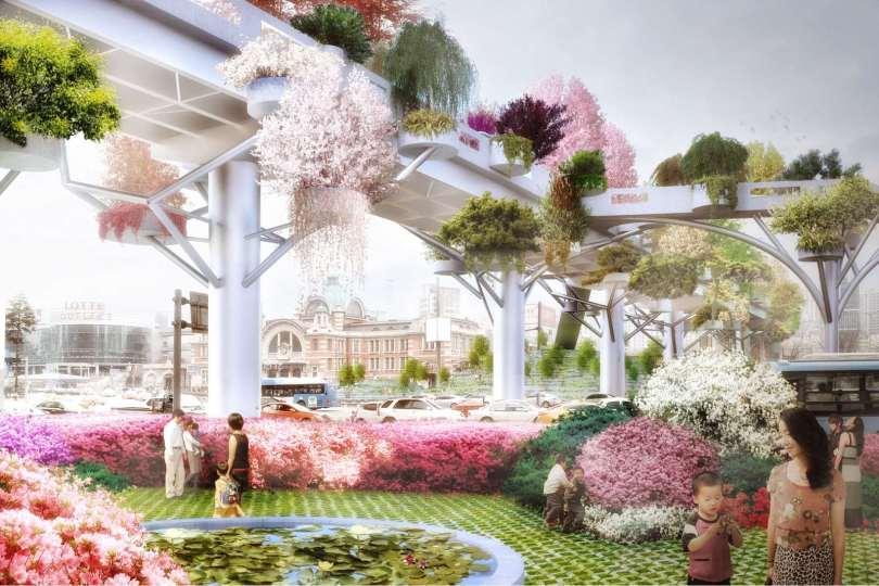 Seoul Skygarden, proj. MVRDV, źródło: http://mvrdv.com