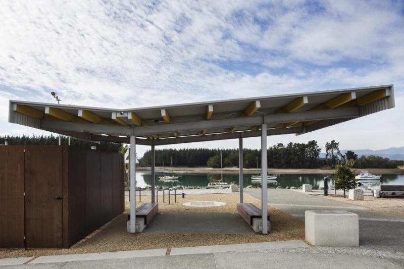 Mapua Park Structures, proj. Irving Smith Jack Architects i Robin Simpson Design; źródło: www.worldarchitecturefestival.com