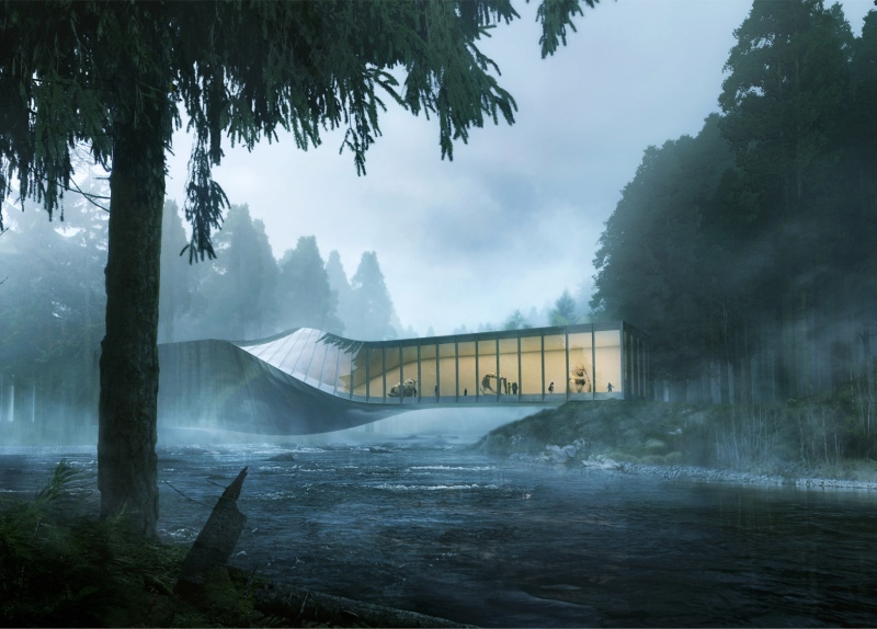 Kistefos Museum, Norwegia, proj. BIG, źródło: www.big.dk