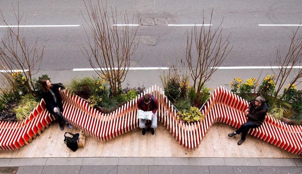 Micro-park, proj. WMBstudio, źródło: www.wmbstudio.co.uk