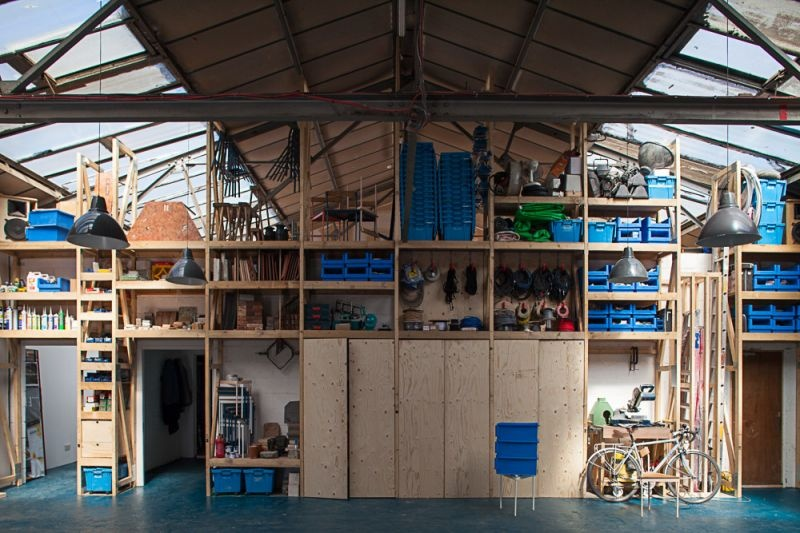 Sugarhouse Studios, proj. Assamble, źródło: http://assemblestudio.co.uk